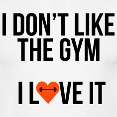 i-like-the-gym-Magliette